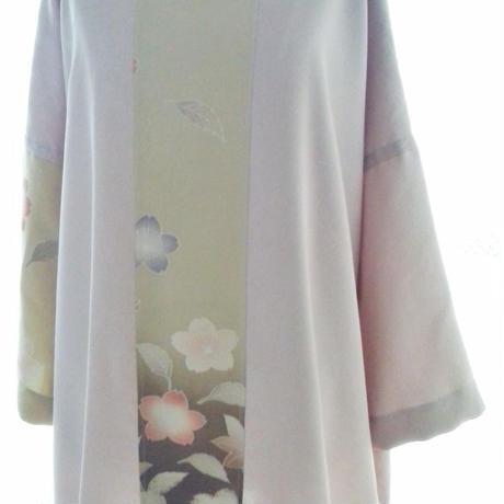 シルクのチュニック(桜)
