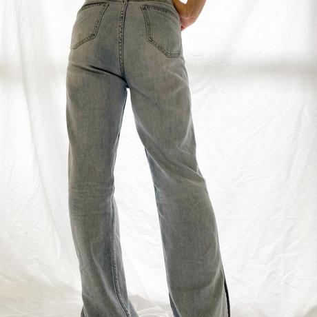 straight slit Pants
