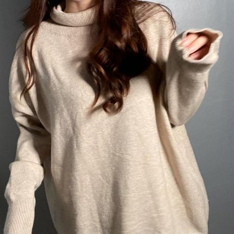 mochi  high neck knit