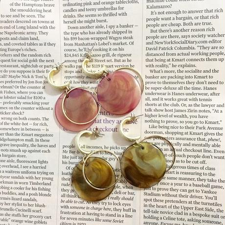 【即納】Marble pierce/pink,beige