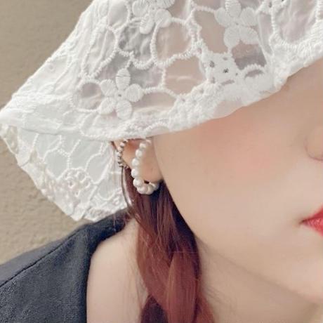 【即納】Pearl ear cuff