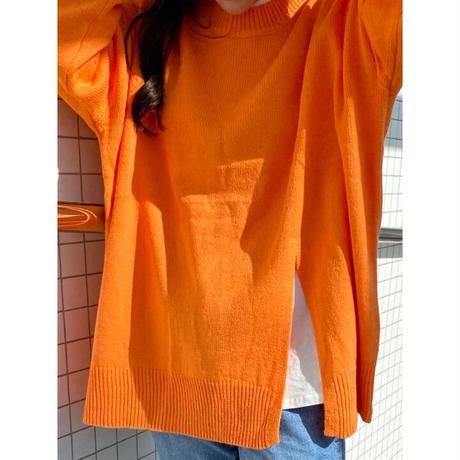 【即納】slit over knit