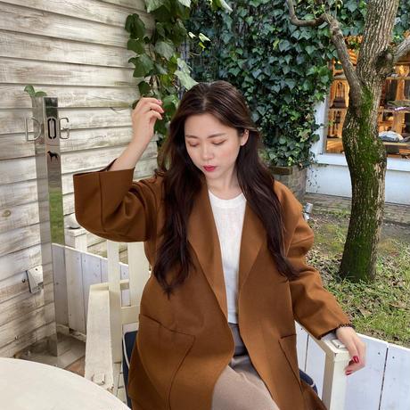 【即納】wool coat/Camel,Black
