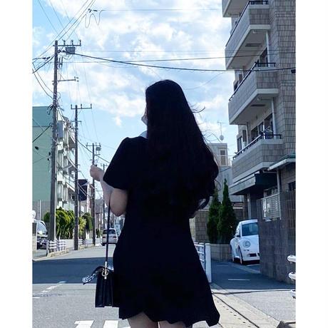【即納】Puff sleeve EG OPS/Black