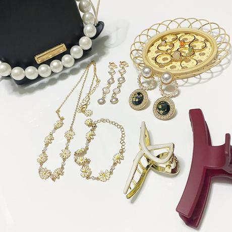 【即納】daily accessory set(イヤリング)