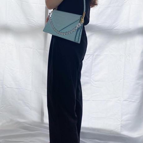 Square croco bag/4color