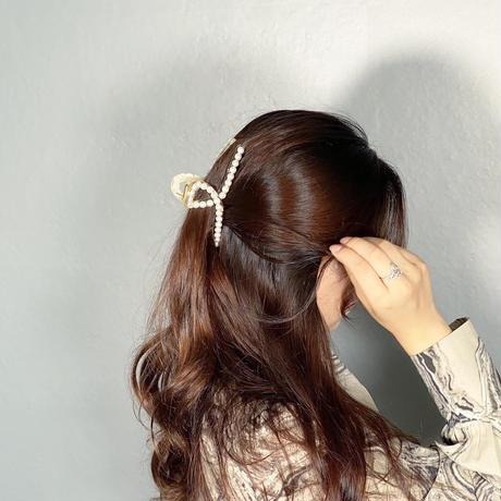 【即納】Pearl hair clip