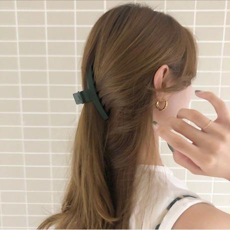 【即納】Matte hair clip