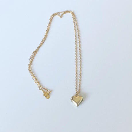 Retro heart necklace