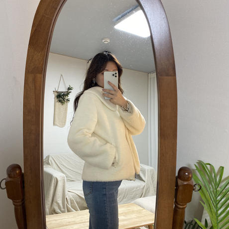 【即納】Faux fur Jacket