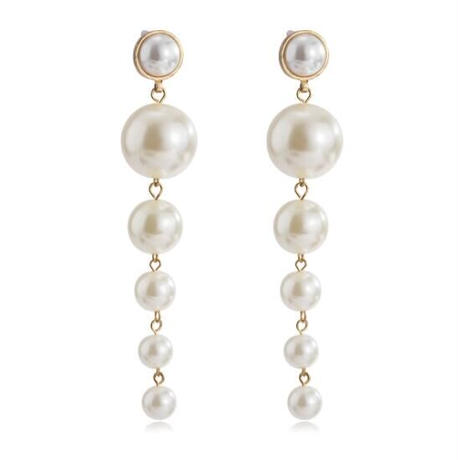 【即納】Big Pearl pierce