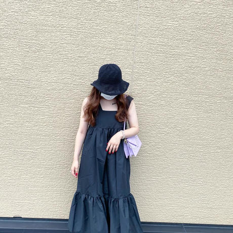 【即納】Black Square onepiece