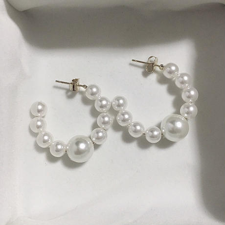 Pearl ring pierce