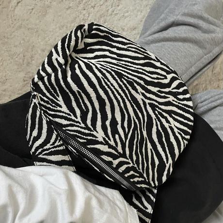 Zebra Hand Bag