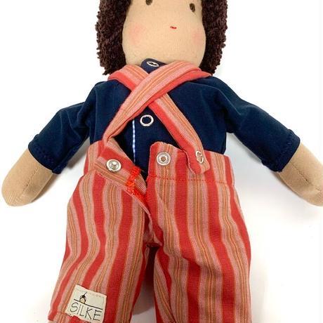 ジルケ人形(小)男の子 吊りズボン