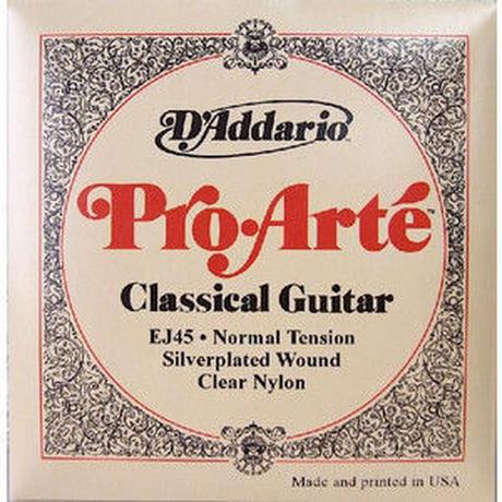 D'addario ダダリオ クラシックギター弦 プロアルテ EJ45