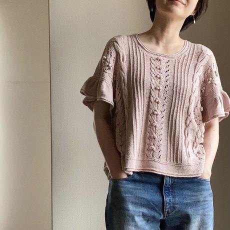 [K2tog] 翻訳編図付キット K21-038 Faye Summer Top (size 4)
