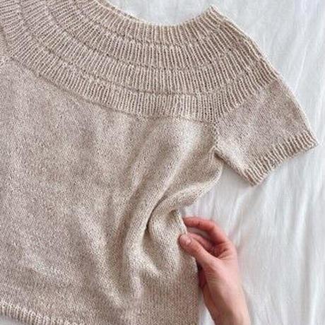 [K2tog] 翻訳編図付キット K21-002 Anker's Summer Shirt (S-M size)