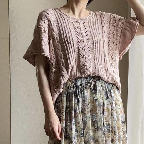 [K2tog] 翻訳編図付キット K21-037 Faye Summer Top (size 2-3)
