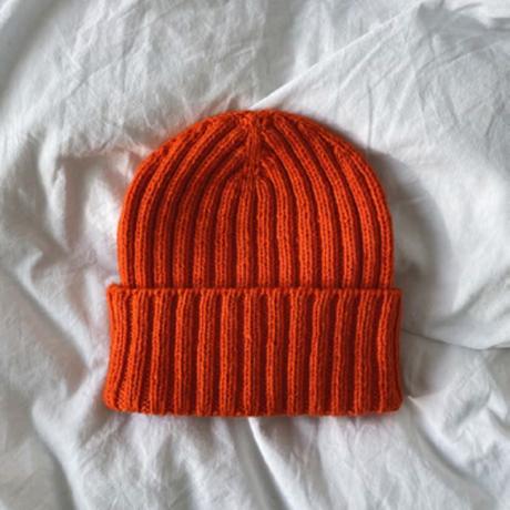 [K2tog] 翻訳編図付キット K21-077 The Hipster Hat (XS-L)