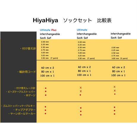 "[HiyaHiya] Interchangeable Sock Set 4"""