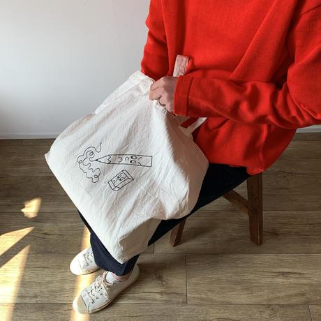 《YAECA》プリントバッグ/ ペンシル