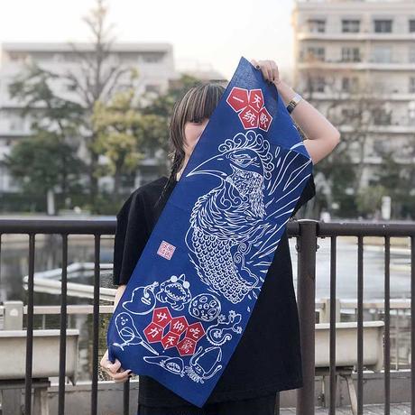 唐津本染-和てぬぐい-