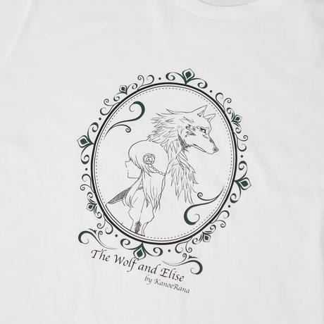 人喰いオオカミとエリーゼTシャツ