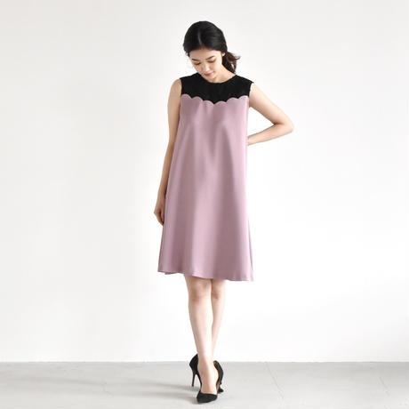 【OUTLET SALE】100410 / スカラップカットワンピース