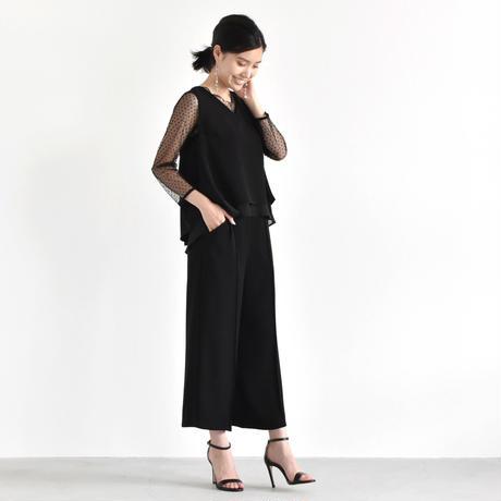 【OUTLET SALE】008166 / センタータックワイドパンツ