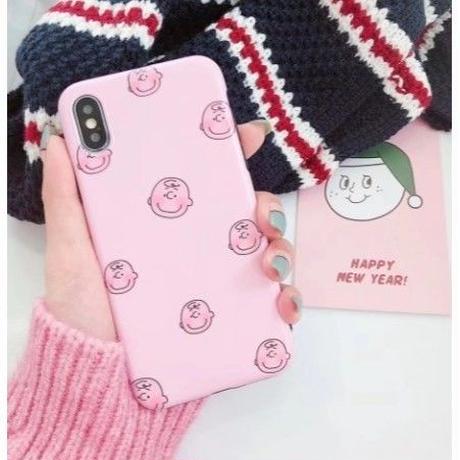 輸入雑貨 スヌーピー ケータイケース snoopy ケータイカバー  iphone XR XsMAX 最大種類 iphone 8 7 6 6 s-plus チャーリーブラウン ピンク