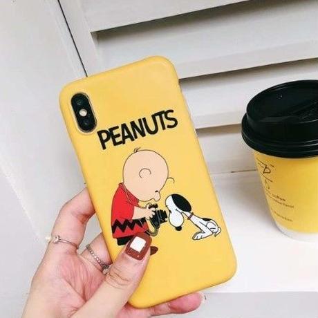 チャーリーブラウン 輸入雑貨 スヌーピー ケータイケース Snoopy ケータイカバー  iphone X Xs ケース 最大種類 iphone 8 7 6 6 s-plus 2