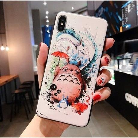 輸入雑貨 トトロ  totoro  iphone 11 Pro MAX ケース 最大種類 iphone 8 7 6 6 s-plus トトロ ジブリ仲間たち