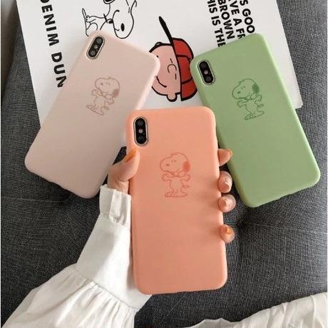 輸入雑貨 スヌーピー snoopy iphone XR XsMAX 最大種類 iphone 8 7 6 6 s-plus スヌーピー3癒しカラー