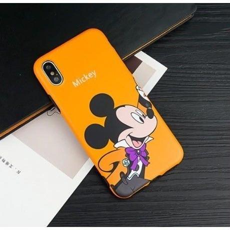 輸入雑貨 ディズニー 仲間たち  ケータイカバー  iphone X 最大種類 iphone 8 7 6 6 s-plus パーティー ミッキー