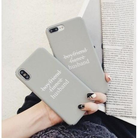 輸入雑貨 ハズバンド グレー   iphone X ケース 最大種類 iphone 8 7 6 -plus スマホケース