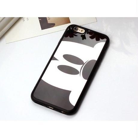 輸入雑貨 ミッキー ミニー ディズニー ケータイカバー  iphone X 最大種類 iphone 8 7 6 5 SE 6 s-plus カップル ブラックミッキー