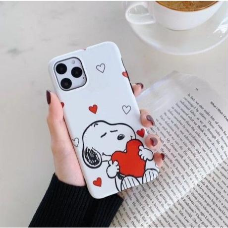輸入雑貨 スヌーピー LOVE♡ snoopy iphone 11 Pro MAX 最大種類 iphone 8 7 6 6 s-plus