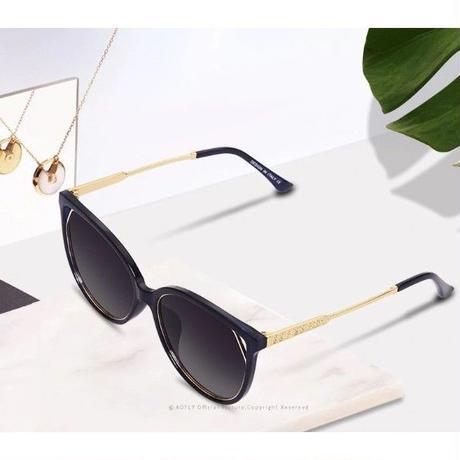 【4color】AOFLY 2019新作 海外人気ブランド レディースサングラス UV400 偏光猫目サングラス ラインストーン