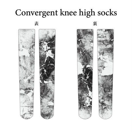 Convergent knee high socks