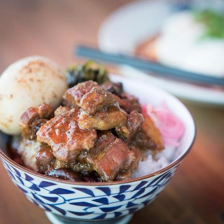 かかんの魯肉飯の餡