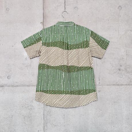 半袖シャツ『シラカミ』ミドリ_3