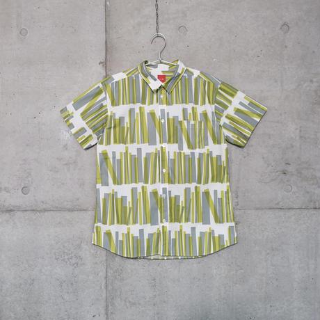 半袖シャツ『トショカン』キミドリ_3