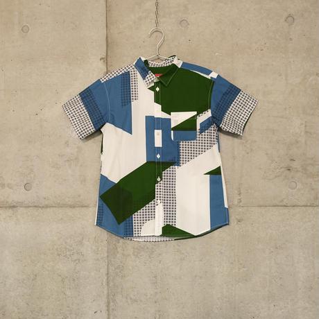 半袖シャツ『フルイマチ』ミドリ_2
