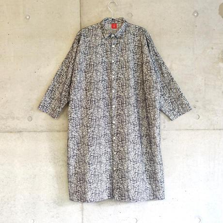 【スクエアシャツワンピース】シバフ(sizeF)