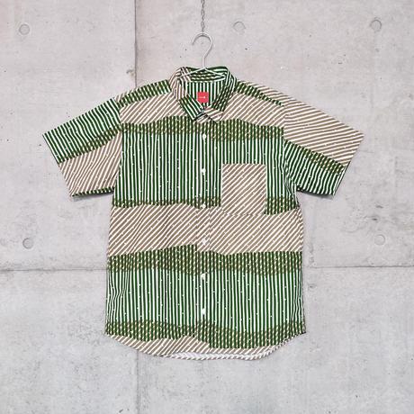 半袖シャツ『シラカミ』ミドリ_6