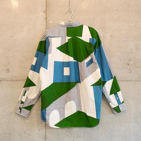 シャツ『フルイマチ』ミドリ_6_b