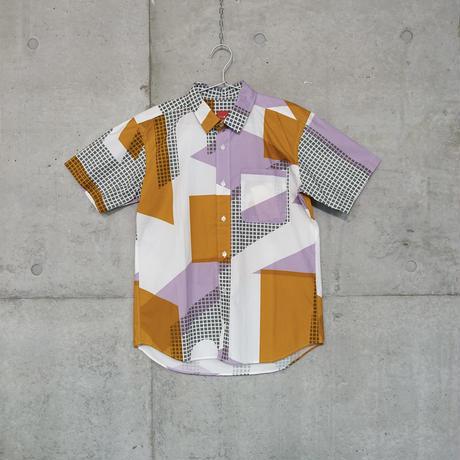 半袖シャツ『フルイマチ』オレンジ_4