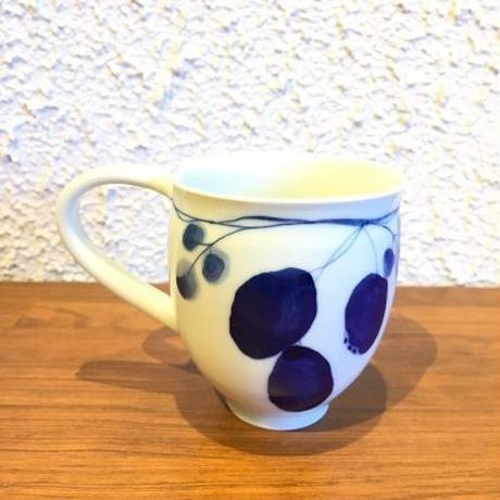 近藤清子 絵変りマグカップ(あけび)
