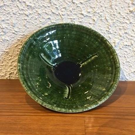 田尾明子作 織部鉢(小)